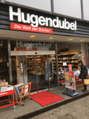 HUGENDUBEL BUCHHANDLUNG