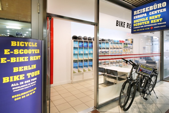 BIKE RENT & BIKE TOURS IN TRAVEL AGENCY EUROPA-CENTER