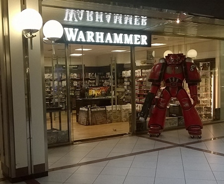 WARHAMMER BERLIN EUROPA-CENTER
