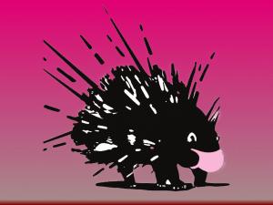 Porcupines Pink