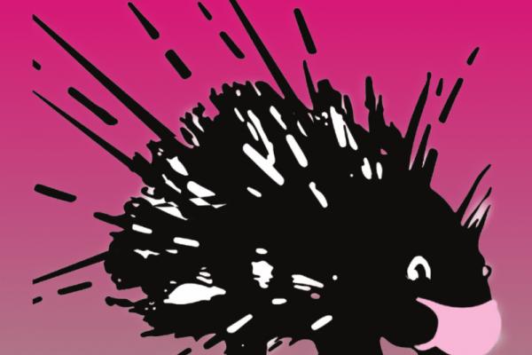 Stachelschweine Pink
